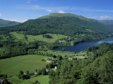 View Over Balquhidder and Loch Voil, Stirling, Central Region, Scotland, United Kingdom Photographic Print by Roy Rainford