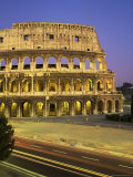 The Colosseum, Floodlit, Rome, Lazio, Italy Photographic Print by Roy Rainford