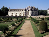 Chateau of Chenonceau and Garden, Touraine, Loire Valley, Centre, France Photographic Print by Roy Rainford