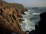 Lands End, Cornwall, England, United Kingdom Photographic Print by John Miller