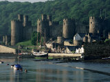 Conwy Castle, Unesco World Heritage Site, Conwy, Gwynedd, Wales, United Kingdom Photographic Print by Roy Rainford