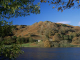 Loughrigg Tarn and Fell, Lake District National Park, Cumbria, England, United Kingdom Photographic Print by Roy Rainford