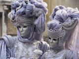 People in Carnival Costume, Venice, Veneto, Italy Photographic Print by Roy Rainford