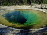 Morning Glory Spring, Yellowstone National Park, Unesco World Heritage Site, USA Photographic Print by Roy Rainford