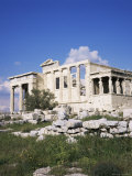 The Erechtheion, Acropolis, Unesco World Heritage Site, Athens, Greece Photographic Print by Roy Rainford