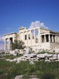 The Erechtheion, Acropolis, Unesco World Heritage Site, Athens, Greece Lámina fotográfica por Roy Rainford