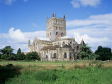 Tewkesbury Abbey, Tewkesbury, Gloucestershire, England, United Kingdom Photographic Print by Roy Rainford