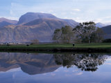 Ben Nevis from Corpach, Highland Region, Scotland, United Kingdom Photographic Print by Roy Rainford