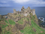 Dunluce Castle, County Antrim, Ulster, Northern Ireland, United Kingdom Photographic Print by Roy Rainford