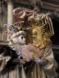 Carnival Costumes, Venice, Veneto, Italy Photographic Print by Roy Rainford