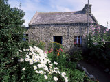 Stone Cottage, Ile d'Ouessant, Finistere, Brittany, France Photographic Print by John Miller
