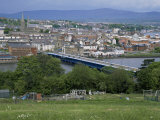 View Over Londonderry, County Derry, Northern Ireland, United Kingdom Photographic Print by Roy Rainford