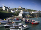 Coverack Harbour, Cornwall, England, United Kingdom Photographic Print by John Miller