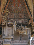 Traditional, Decorated Toraja House, Rantepao, Island of Sulawesi, Indonesia, Southeast Asia Photographic Print by Claire Leimbach