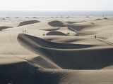 Sand Dunes, Maspalomas, Gran Canaria, Canary Islands, Spain Photographic Print by Roy Rainford