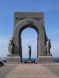 Monument Aux Morts Des Orients, Marseille, Bouches-Du-Rhone, Provence, France Photographic Print by Roy Rainford