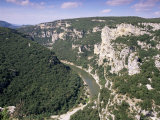 Ardeche Gorges, Languedoc Roussillon, France Photographic Print by John Miller