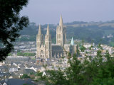 Truro Cathedral and City, Cornwall, England, United Kingdom Photographic Print by John Miller