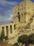 Moat, Tower and Main Entrance Gate, the Citadel, Aleppo, Unesco World Heritage Site, Syria Photographic Print by Eitan Simanor