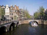 Keizers Gracht, Amsterdam, Holland Fotografisk tryk af Roy Rainford