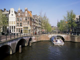 Keizers Gracht, Amsterdam, Holland Photographic Print by Roy Rainford