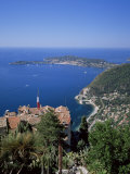 Eze and St. Jean-Cap-Ferrat, Cote d'Azur, Provence, France, Mediterranean Photographic Print by Roy Rainford
