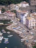Marina Grande, Sorrento, Costiera Amalfitana, Unesco World Heritage Site Fotografisk tryk af Roy Rainford