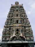 Sri Mahamariamma, Hindu Temple, Kuala Lumpur, Malaysia, Southeast Asia Photographic Print by John Miller