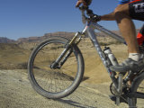 Front Wheel and Frame of Mountain Bicycle in the Mount Sodom International Mountain Bike Race Lmina fotogrfica por Eitan Simanor