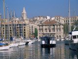 Ferry Crossing Vieux Port, Marseille, Bouches-Du-Rhone, Provence, France Photographic Print by Roy Rainford
