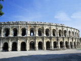 Roman Arena, Nimes, Languedoc-Roussillon, France Photographic Print by Roy Rainford