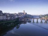Town of Albi, Tarn River, Tarn Region, France Photographic Print by John Miller