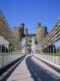 Conwy Catle, Gwynedd, North Wales, UK Fotografisk tryk af Roy Rainford