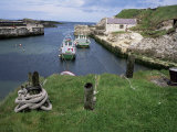 Ballintoy Harbour, County Antrim, Ulster, Northern Ireland, United Kingdom Photographic Print by Roy Rainford