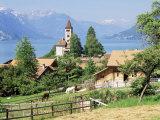 Lake Brenz, Brenz, Jungfrau Region, Switzerland Photographic Print by Roy Rainford