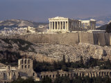 The Acropolis, Unesco World Heritage Site,Athens, Greece Photographic Print by Roy Rainford