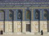 Tiled Facade of the Dome of the Rock, Old City, Unesco World Heritage Site, Jerusalem, Israel Photographic Print by Eitan Simanor