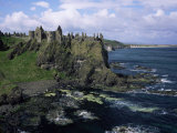 Dunluce Castle, County Antrim, Northern Ireland, United Kingdom Photographic Print by Roy Rainford