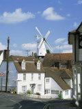 Windmill, Cranbrook, Kent, England, United Kingdom Fotografisk tryk af Roy Rainford