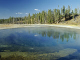 Beauty Pool in Upper Geyser Basin, Yellowstone National Park, Unesco World Heritage Site, USA Photographic Print by Roy Rainford