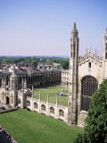 King's College and Chapel, Cambridge, Cambridgeshire, England, United Kingdom Photographic Print by Roy Rainford