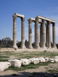 Temple of Olympian Zeus, Athens, Greece Photographic Print by Roy Rainford