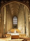 Interior, Canterbury Cathedral, Unesco World Heritage Site, Kent, England, United Kingdom Photographic Print by Roy Rainford