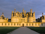 Chateau De Chambord, Unesco World Heritage Site, Loir-Et-Cher, Pays De Loire, Loire Valley, France Photographic Print by Bruno Morandi
