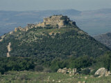 Nimrod Crusader Fort, Galilee Panhandle, Upper Galilee, Israel, Middle East Photographic Print by Eitan Simanor