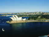 Sydney Opera House and Harbour, Sydney, New South Wales, Australia Photographic Print by Fraser Hall