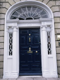 Georgian Doorway, Dublin, Eire (Republic of Ireland) Photographic Print by Fraser Hall