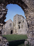 Priory Ruins, Priors Chapel and Tower from the Cloister, Castle Acre, Norfolk, England Photographic Print by David Hunter