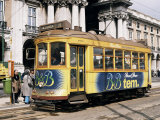 British Built Trams, Lisbon, Portugal Photographic Print by Michael Short