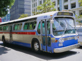 Bus, Downtown San Diego, California, USA Photographic Print by Fraser Hall